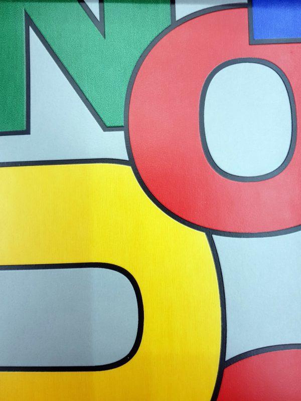 פי וי סי מספרים צבעוני