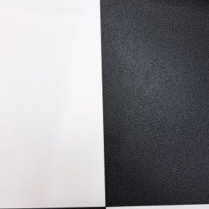 אריח פי וי סי מרובע שחור לבן