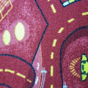 שטיח מקיר לקיר דגם רחוב בורדו