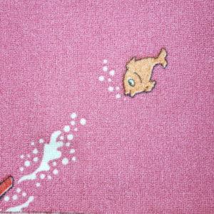 שטיח מקיר לקיר דגם דגים