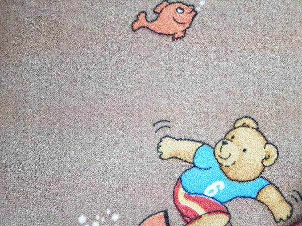 שטיח מקיר לקיר דגם דובונים