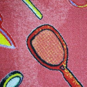 שטיח מקיר לקיר דגם טניס