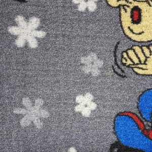 שטיח מקיר לקיר דגם גרגאמל אפור